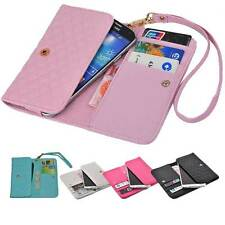 luxury Wallet Card Holder Full Cover Case For MOTOROLA Acer ALCATEL kyocera vivo