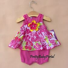 NEW GIRLS Baby's Clothes Sleeveless One-Piece Romper