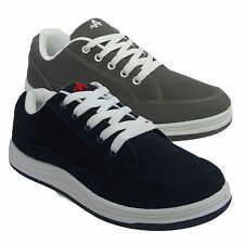 MENS BOYS CASUAL SPORTS LACE UP SKATEBOARD PUMPS TRAINERS SHOES SIZES UK 6-12