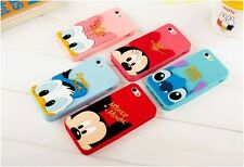 For Apple iPhone 5s 5 5c 4s 4 3D Stitch Minnie Mickey Daisy Silicone Phone Case