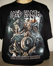 Iced Earth Live In Ancient Kourion T-Shirt Size S M L XL 2XL 3XL Metal Band new