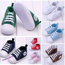 Infant Toddler Baby Boy Girl Soft Sole Crib Shoes Sneaker Age 0-18Months Fashion