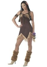 Sexy Indian Princess Adult Womens Costume HALLOWEEN Native American Theatrical