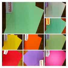 A4 / A5 COLOURED 80 GSM PAPER / CRAFTS / SCRAP BOOKING / FREE POSTAGE