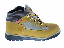 Timberland Helcor Big Kids Waterproof Hiking Field Boots Wheat 3392r
