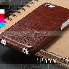 Ultra Thin Luxury Leather Apple iPhone 5 5C Slim Fashion Case Cover Generic