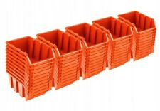50 x PLASTIC STORAGE BINS BOXES FOR GARAGE 60 x 115 x 80 CONTAINERS BOX NP4