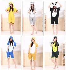 Summer Unisex Japanese Animal Cosplay Costume Anime Onesie Romper YF05