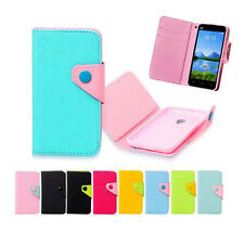 luxury Wallet Card Holder Full Cover Case For Microsoft NOKIA HTC LG