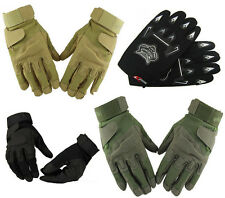 Outdoor Sports Full Half Finger Military Tactical Airsoft Hunting Cycling Gloves