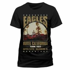 THE EAGLES Hotel California T-shirt (Black) Mens New 'Official'
