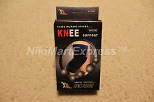 2 x KNEE Elastic Brace Muscle Support Arthritis Sports Pain Relief