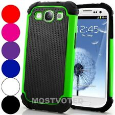 Heavy Duty Shock Proof Case Cover For Samsung Galaxy S3 i9300 i9305