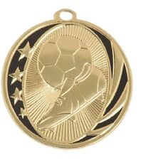 Soccer Medal Award Trophy With Free Lanyard MS707 School Team Sports
