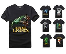 Amumu Teemo Rivan League of Legends LOL short sleeve  Personality T-SHIRT