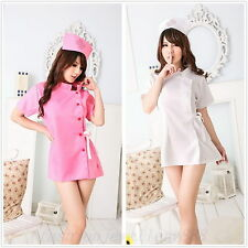 Sexy Nurse Doctor Uniform Cosplay Costume Halloween Fancy Dress Outfit Lingerie
