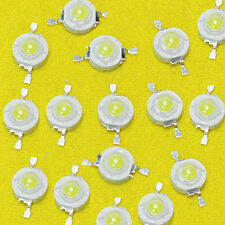 50 Pcs High Power Epistar Chip 3W LED Bulb Diodes 200~230 Lm Lamp Beads NEW