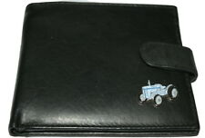 Massey Ferguson T20 Tractor Wallet Grey Tractor Leather NEW Black/Brown/Chestnut