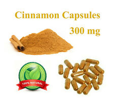 Cinnamon Capsules Diabetic Diabetes Diet Supplement Lower Blood Sugar Levels
