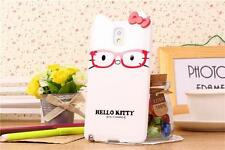 Cute Design Kitty With Bow Case Cover For Hello Kitty Samsung Galaxy Note3