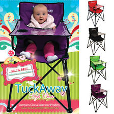Baby High Chair Camping Outdoor Portable Fold up Light Weight Travel High Chair