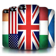 STUFF4 Phone Case/Back Cover for Apple iPhone 5/5S /Flags