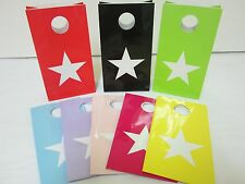 24x STAR Lolly Candy BAGS box  Party Favours Loot Lolly Party Bag - Candy Buffet