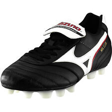 Mizuno MRL Club MD Football Rugby Boots Black/White/Red FG Mouldies