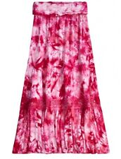 JUSTICE Girls Long Tie Dyed Maxi Skirt, NEW, Size 10 12 18
