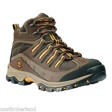 Timberland Men's Brown Trail Wind Mid Hiker Hiking Boots Shoes Style #96132