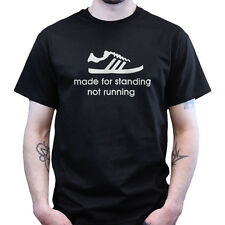 Made for Standing Not Running Casual Culture 80s Terrace Football T-shirt
