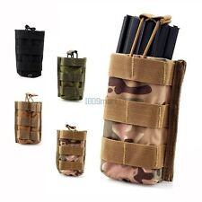 MOLLE Single Open Top AR M4 Rifle Magazine Mag Pouch For Tactical Vest Backpack