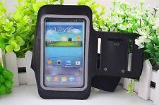 2Colors white and black Gym Running Sport Armband whole Cover Case For phones