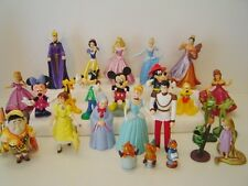 Disney Figures different styles Princess Fairys micky ect Great For Cake Toppers