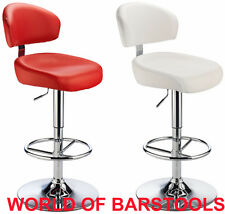 CALIPSO HIGH END DESIGNER BAR STOOL IN 5 GREAT COLOURS