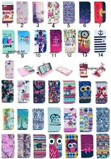 Fashion Flip Wallet Printed PU Leather Stand Case TPU Cover For Samsung S3 Mini