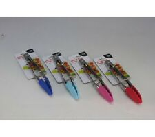 Stainless Steel Tongs 18CM With Silicon Heads,In 4 Colors,RED,BLUE,SKY BLUE,PINK