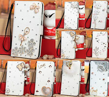 Bling Diamond Wallet Stand Flip Leather Case For Samsung Galaxy Note 3 III N9000