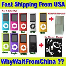 "4th Gen 16GB Mp3 Mp4 Player 1.8"" LCD Screen FM, Video, Games,  Movie"