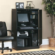 NEW Sauder Computer Armoire Laptop PC Desk Storage Space Saver CHOOSE COLOR