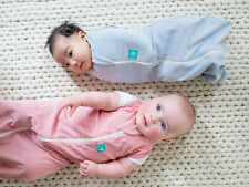 ergoPouch 1.0 TOG ergoCocoon Swaddle Sleeping Bag 2-in-1, 0-3m & 3-12m