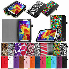 "For Samsung Galaxy Tab 4 7.0 7"" SM-T230 Tablet Folio PU Leather Case Stand Cover"