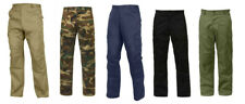 BDU Pants Relaxed Fit Zipper Fly Military Tactical  Rothco