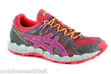 SCARPE ASICS RUNNING CORSA GEL FUJI TRAINER 2 T373N 7136 SHOES  WOMAN ROSA