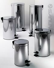 HEAVY DUTY 3,5,8,12,20,30 L STAINLESS STEEL WASTE RUBBISH PEDAL BIN KITCHEN HOME