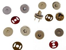 10/50sets 14mm Magnetic Snaps Fasteners Closures Clasps Buttons Bag Purse Wallet