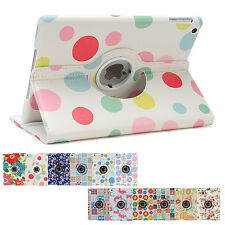 360 Rotating Flower Smart Cover Case for Apple iPad Air 5