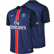 PARIS SAINT-GERMAIN NIKE HOME JERSEY 2015 2016 FOOTBALL CLUB SOCCER OFFICIAL MEN
