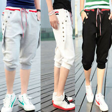Mens Workout Casual Sports Hip Hop Dance Short Pants Cropped Trousers 4Sizes Hot