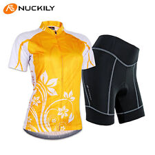 Women Breathable Cycling Jersey Bike Bicycle Clothing ShortSleeve Suit Short Set